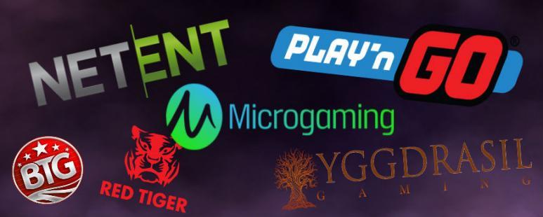 meilleurs éditeurs de jeux de casino en ligne